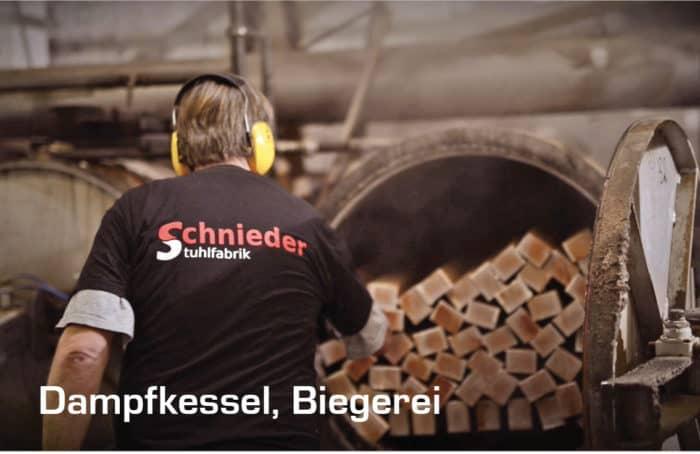 Dampfkessel Biegerei Stuhlfabrik Schnieder