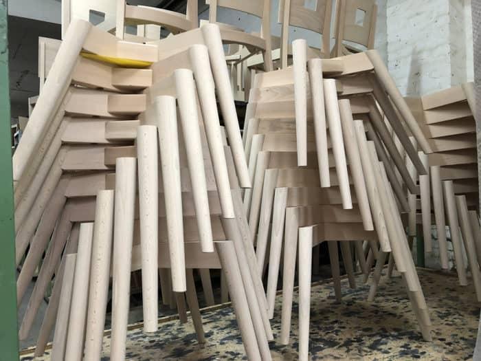 Gestell Marie Produktion Stuhlfabrik Schnieders
