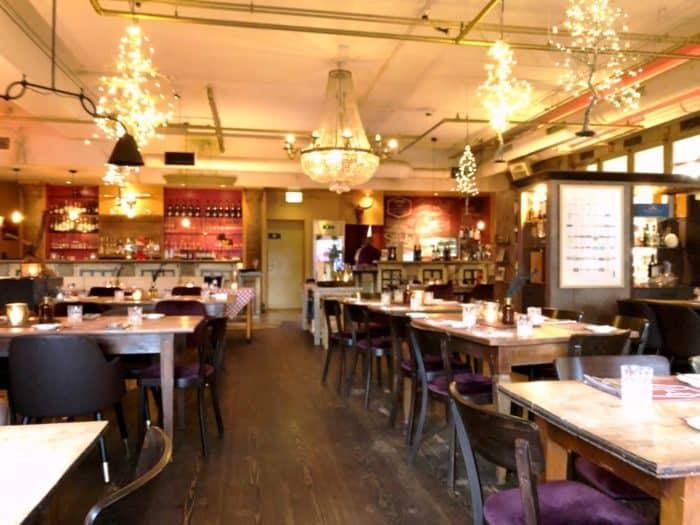 Sebastian's Steakhouse Blick auf Bar