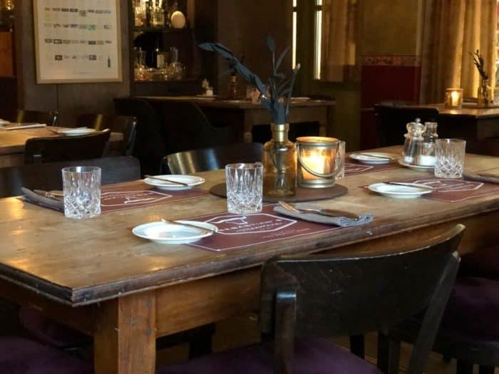 Tisch im Sebastian's Steakhouse Siegen