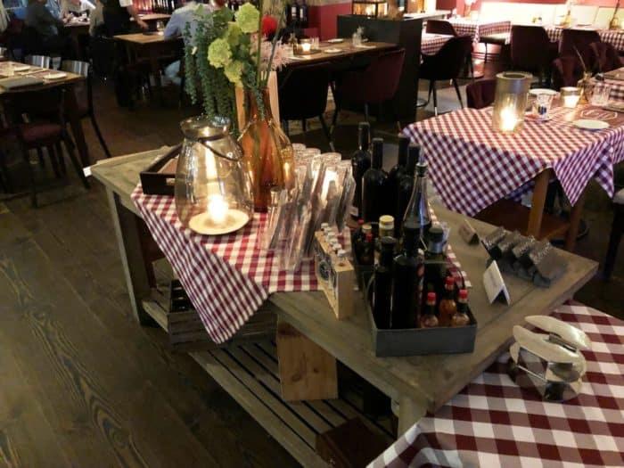 Innenansicht Sebastian's Steakhouse in Siegen