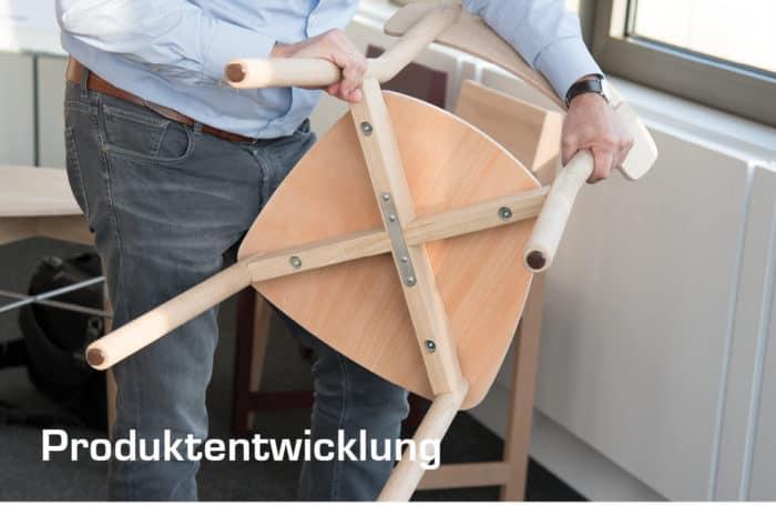 Produktentwicklung 2 Stuhlfabrik Schnieder