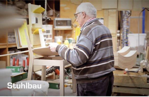 Stuhlbau-2-Stuhlfabrik-Schnieder-585x380 Stuhlfabrik Schnieder: hochwertige Gastronomiemöbel Made in Germany