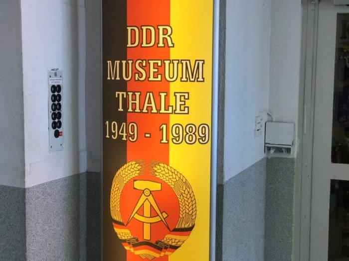 Eingagng DDR Museum Thale
