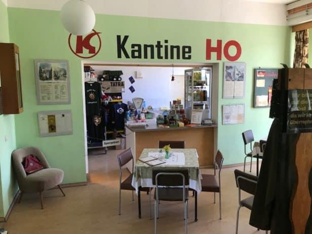 Kantine Konseum im DDR Museum Thale