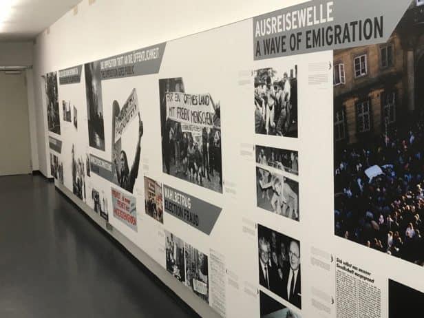 Ausreise und Mauerfall DDR