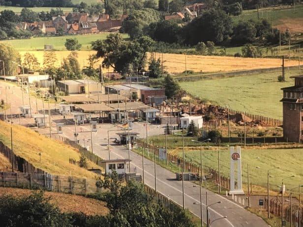 Grenzübergang Teistungen in den 1980er Jahren