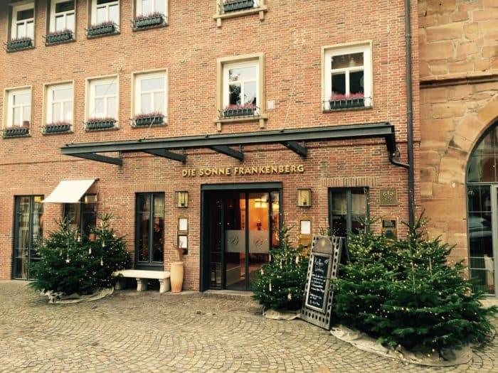Literaturfestival mit Hotel Die Sonne in Frankenberg