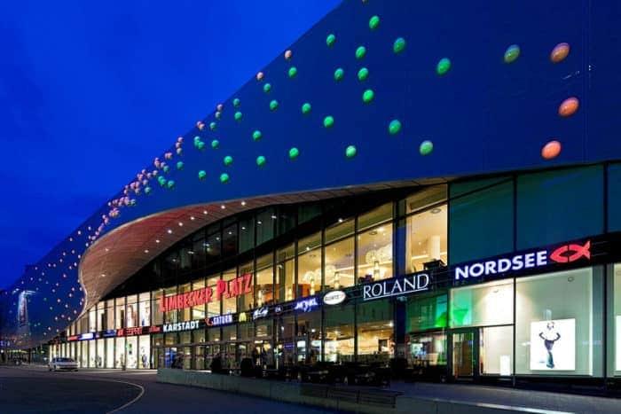 Der Limbecker Platz in Essen: Einkaufszentrum mit Charme