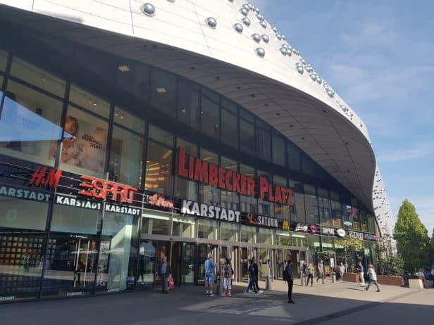 Eingang Limbecker Platz Essen