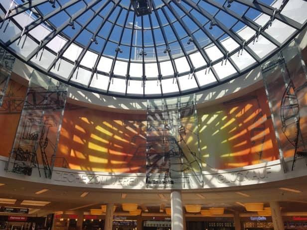 Lichtkuppel Limbecker Platz Essen