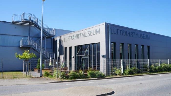 Außenansicht Luftfahrtmuseum Wernigerode
