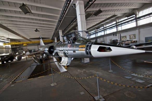 luftfahrtmuseum_wernigerode_starfighter-585x390 Geschichte der Luftfahrt im Luftfahrtmuseum Wernigerode erleben