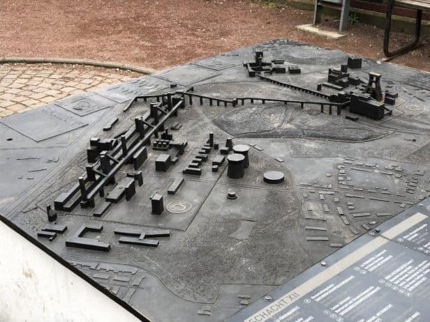 Modell Zeche Zollverein