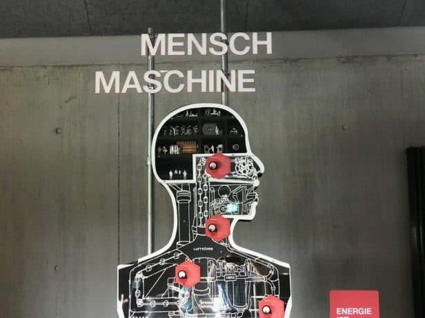 Phänomenta Lüdenscheid, Mensch und Maschine