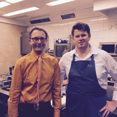 Küchenchef Arnecke und Baranowski