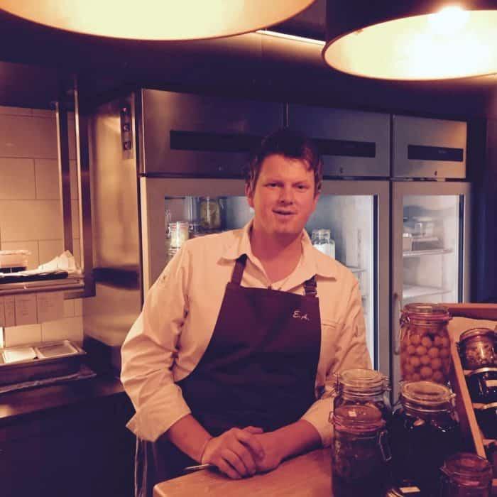 Küchenchef Eric Arnecke