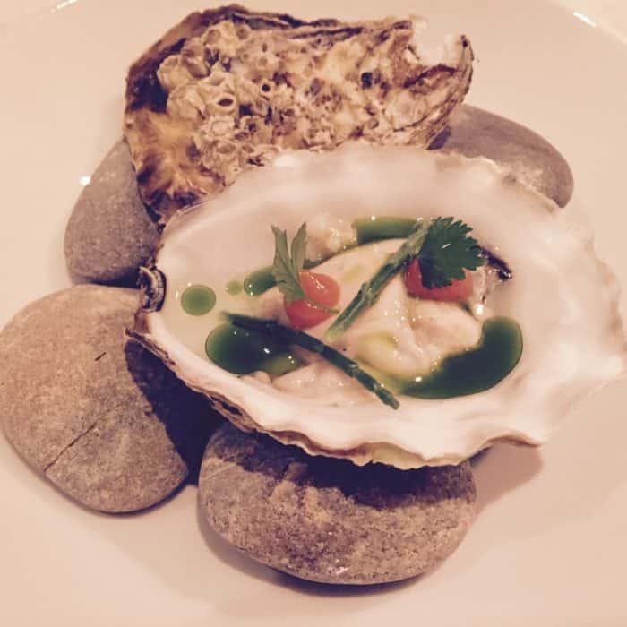 Arnecke-Kreation: Auster delikat zubereitet