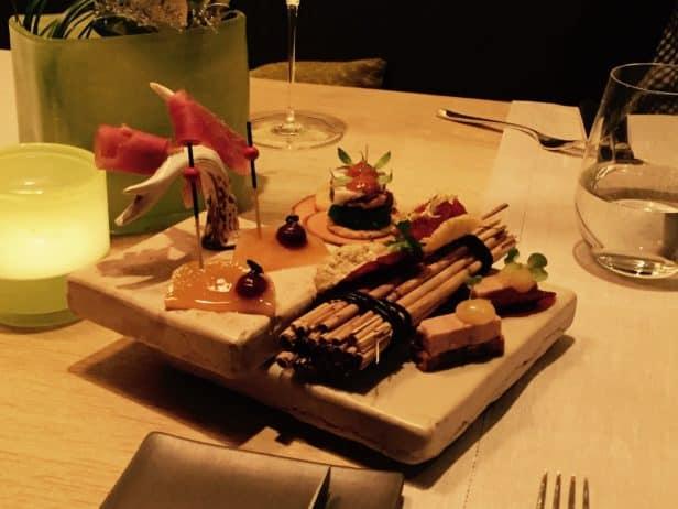 Restaurant Philipp Soldan, Gruß aus der Küche