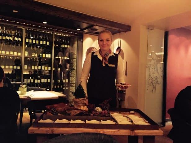 Restaurant Philipp Soldan, Auswahl an Pralinen