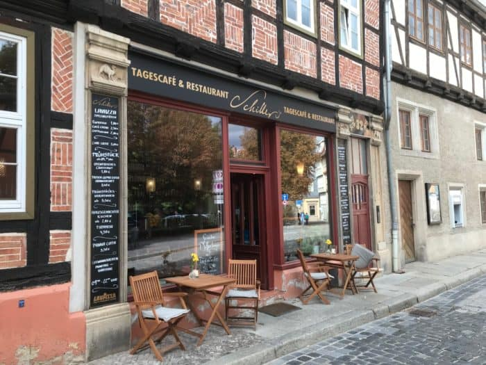 Restaurant Schillers in Quedlinburg