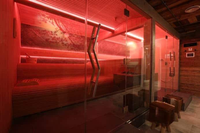 Sauna in Rot Nägler's - Fine Lounge Hotel