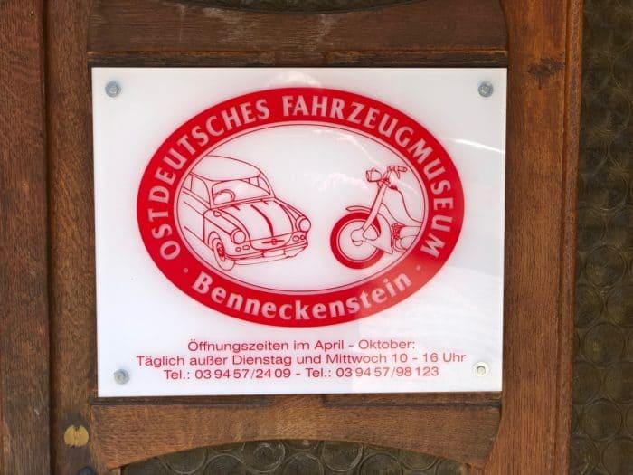 Logo Fahrzeugmuseum Benneckenstein