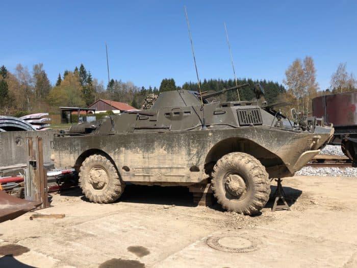 Panzer im Fahrzeugmuseum Benneckenstein