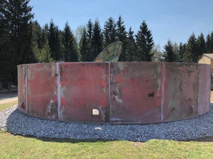 Erster Ring der Stasi-Kuppel