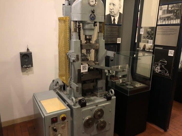 Maschine des ehemaligen Hüttemwerkes Thale