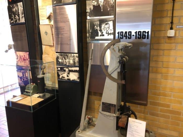 Anschauungsobjekte Hüttenmuseum Thale