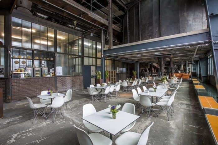 Gastronomie auf Zollverein: Café Kohlenwäsche