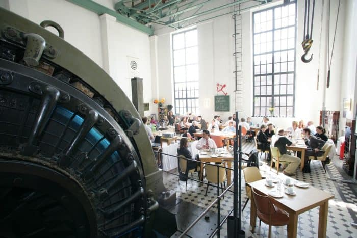 Gastronomie auf Zollverein: Café Zollverein