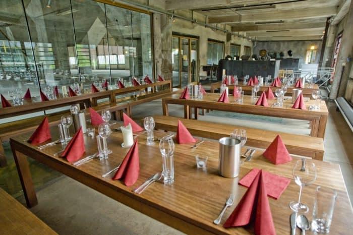 """Gastronomie auf Zollverein: """"die kokerei"""" – café & restaurant"""