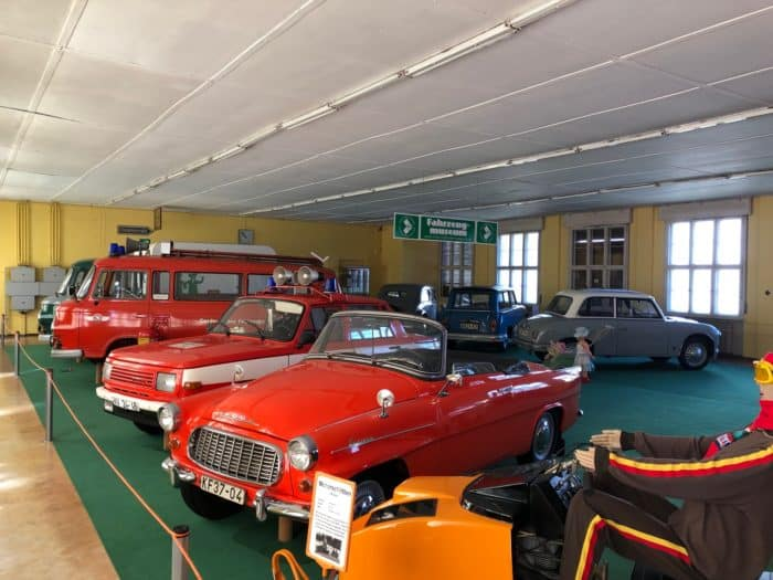 Historische Sammlung von DDR-Fahrzeugen
