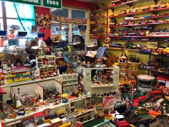 Umfangreiche Sammlung DDR-Spielzeug