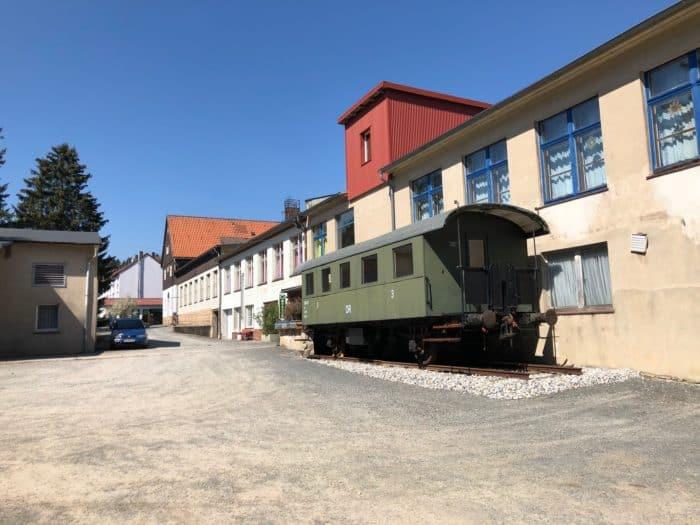 Außenansicht Fahrzeugmuseum Benneckenstein