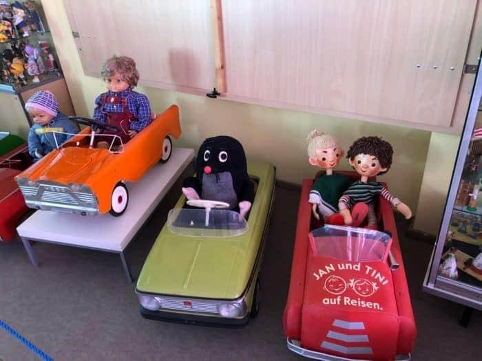 Kinder-Fahrzeuge im Fahrzeugmuseum Benneckenstein