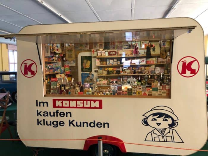 Verkaufswagen DDR-Handelsorganisation Konsum