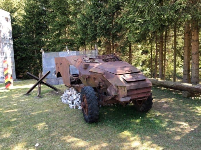 Militärgeschichtliche Sammlung Fahrzeugmuseum Benneckensetin