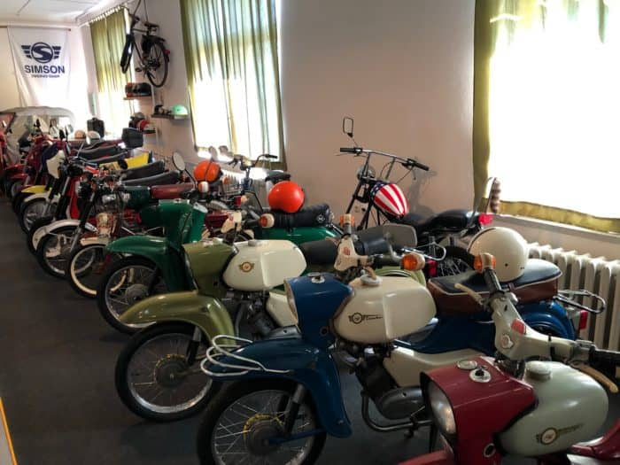 Motorräder Fahrzeugausstellung Benneckenstein