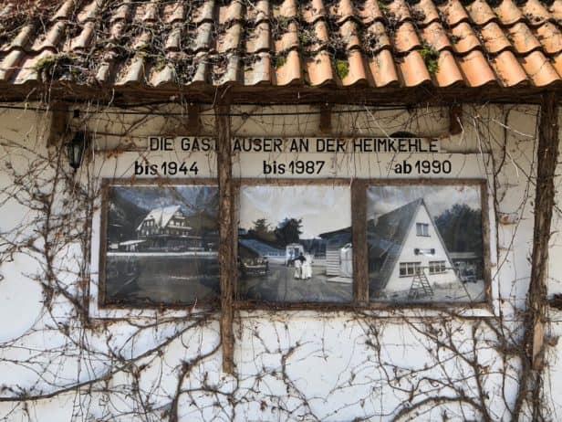 Historie Restaurant Heimkehle