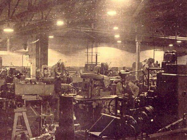 Junkers-Produktionsstätte in der Heimkehle