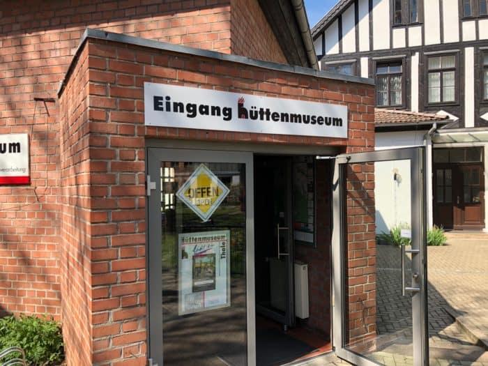 Außenasnicht Hüttenmuseum in Thale
