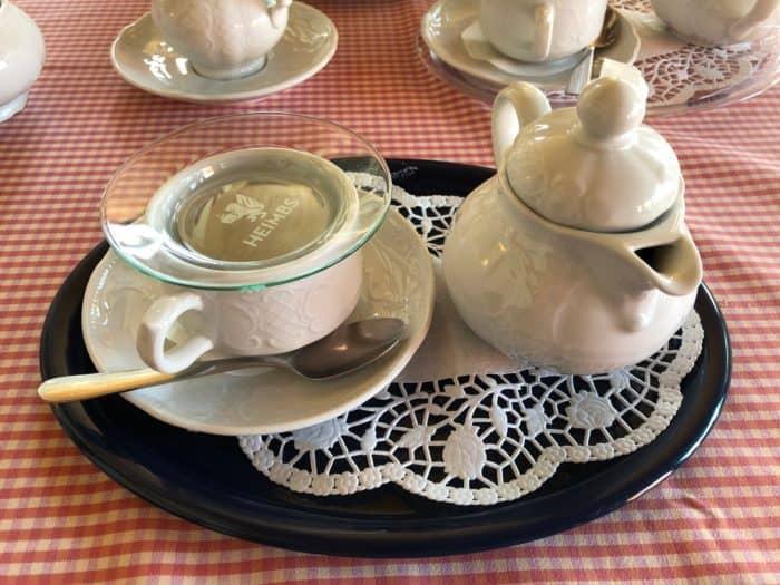 Teekanne Ländliche Kaffeestuben Limlingerode