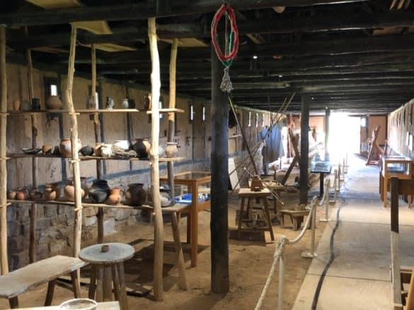 koenigspfalz_tilleda_blick_wirtschaftsgebauede-585x439 Königspfalz Tilleda: Freilichtmuseum zu Füßen des Kyffhäusers