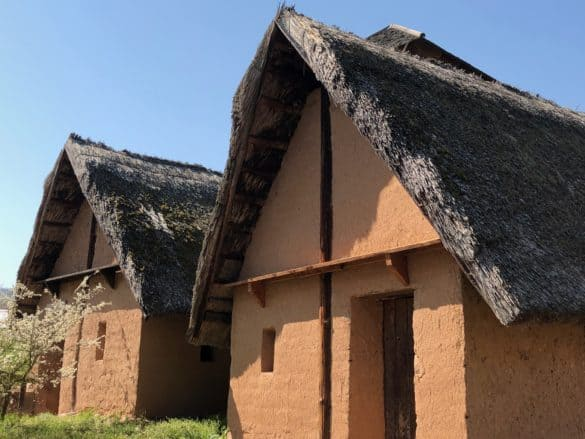 koenigspfalz_tilleda_nachgebaute_gebauede-585x439 Königspfalz Tilleda: Freilichtmuseum zu Füßen des Kyffhäusers