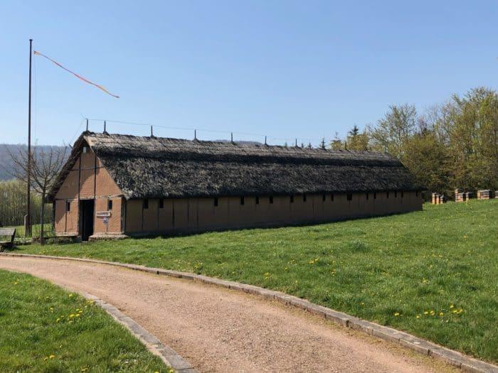 Königspfalz Tilleda, Wirtschaftsgebäude