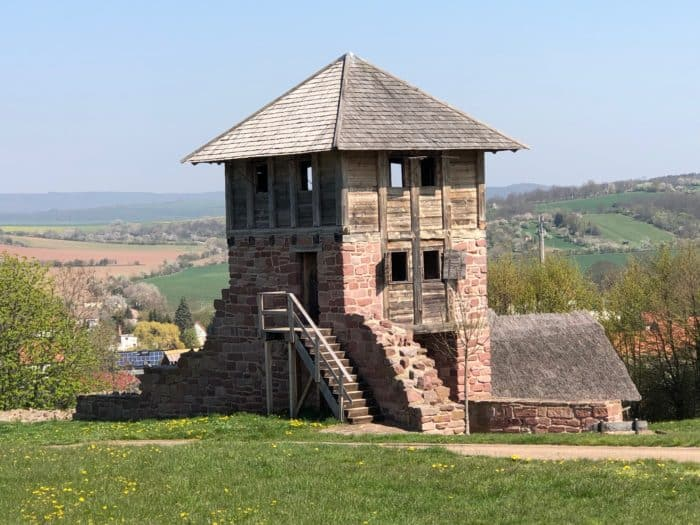 Königspfalz Tilleda: Freilichtmuseum zu Füßen des Kyffhäusers