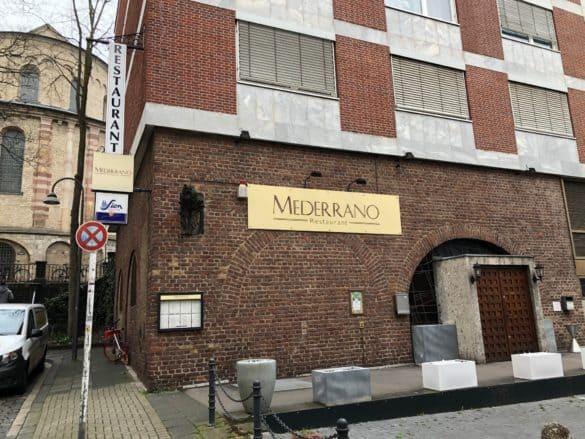 restaurant_mederrano_koeln_aussenasnicht-585x439 Restaurant Mederrano in Köln: speisen in historischer Umgebung